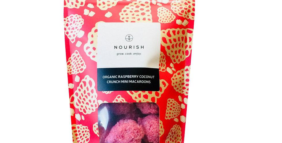 Nourish - Organic Raspberry Coconut Macaroons - 110g