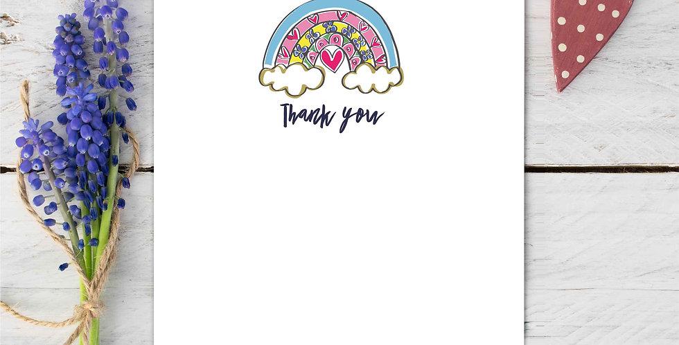 Marina B Designs - Rainbow Notecards