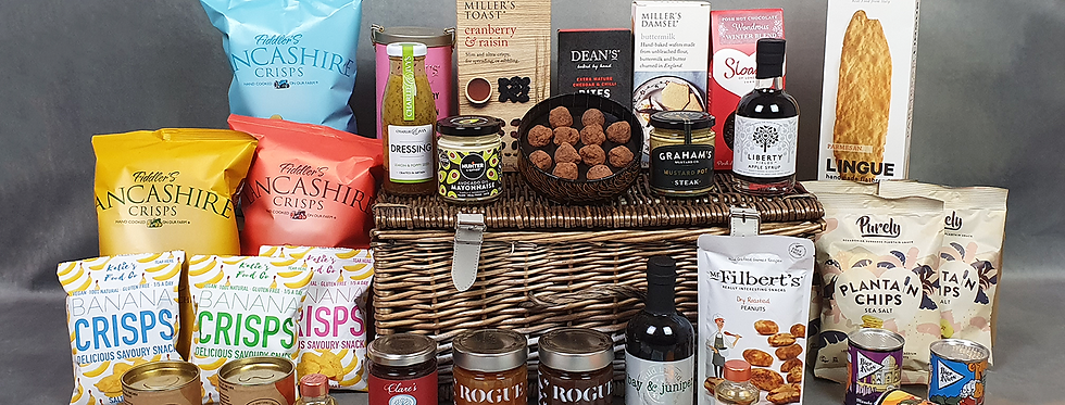 The Fetcham Park House William Talman Hamper (supplied in a Straw Filled Box)