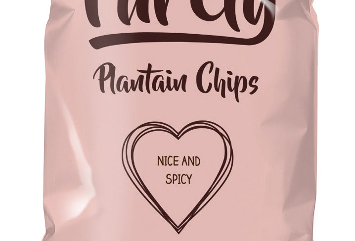 Purely Plantain Crisps - Nice & Spicy 75g x 12