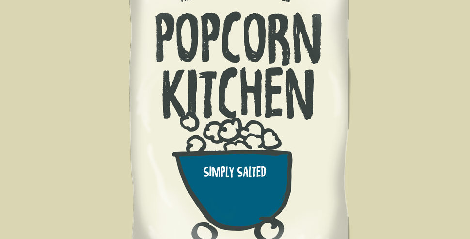 Popcorn Kitchen - Simply Salted - 100g