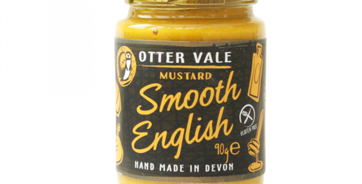 Otter Vale Smooth English Mustard 90g