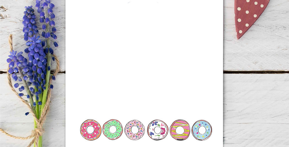 Marina B Designs - Doughnuts Notecards