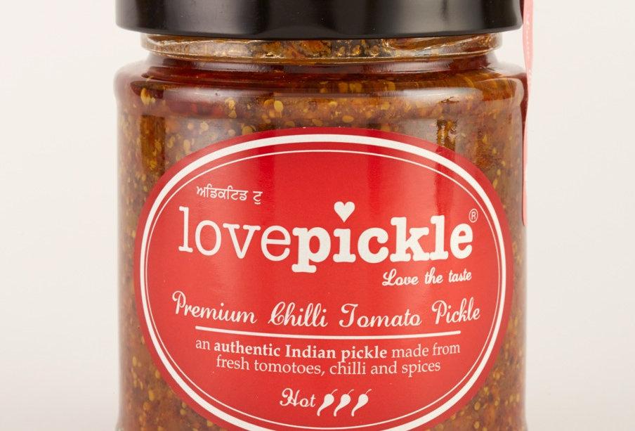 Lovepickle - Chilli Tomato Pickle - Hot - 180g