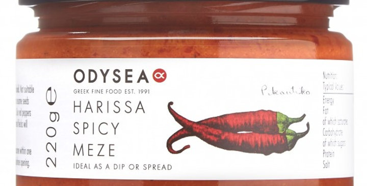 Odysea Harissa Spicy Meze - 220g