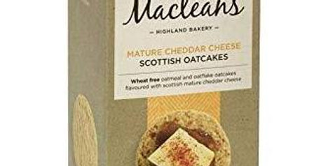 Maclean's Mature Cheddar Oatcakes – 150G