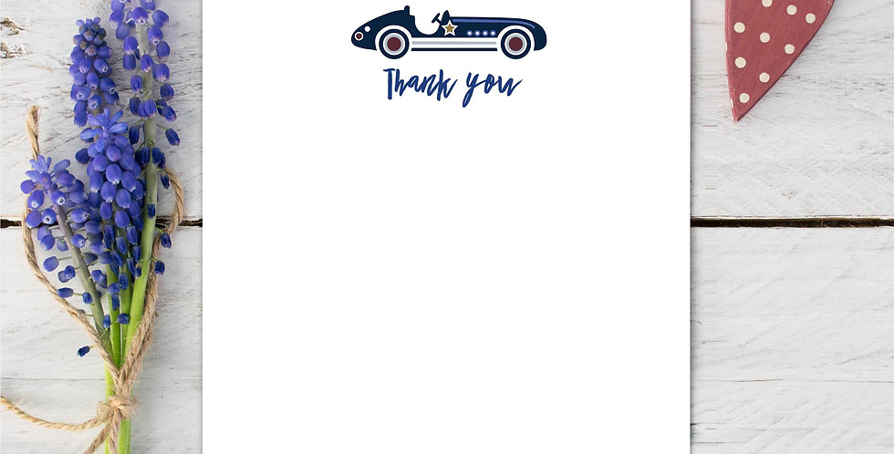 Marina B Designs - Racing Car Notecards