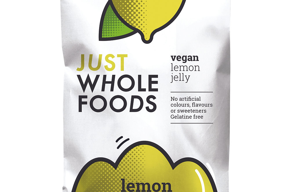 Just Whole Foods Vegan Lemon Jelly - 85g