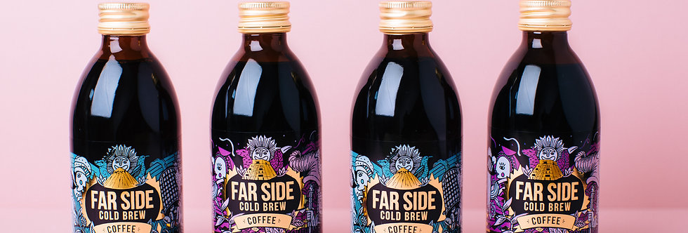 Far Side Coffee -  2 x Rwanda & 2 x Peru 250ml