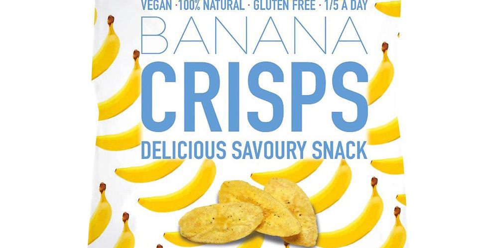 Katie's Banana Crisps - Himalayan Salt & Vinegar - 32g