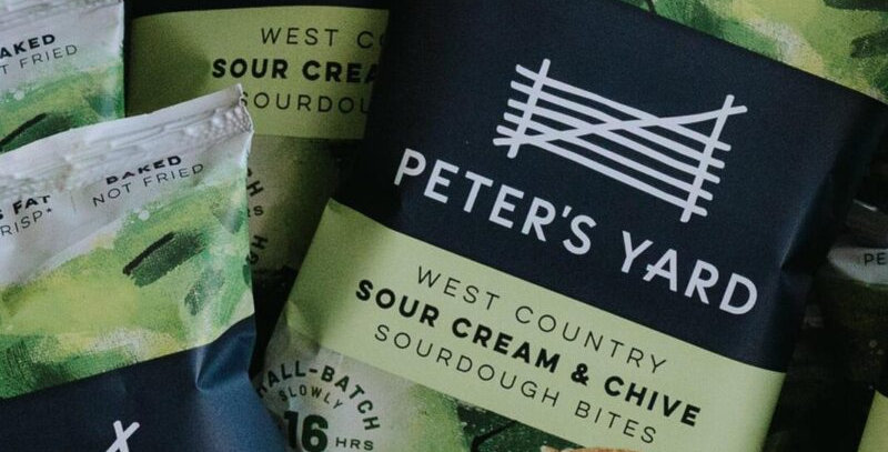 Peter's Yard West Country Sour Cream & Chive Sourdough Bites 90g