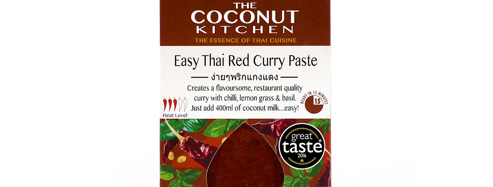 Easy Thai Red Curry Paste