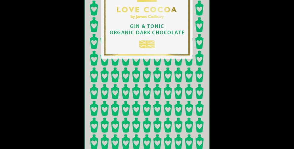 Love Cocoa - Gin & Tonic - 80g