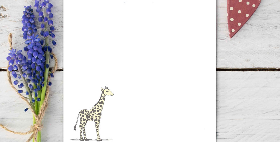 Marina B Designs - Giraffe Notecards