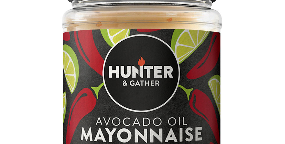 Hunter & Gather - Chipotle & Lime Avocado Mayonnaise - 175g