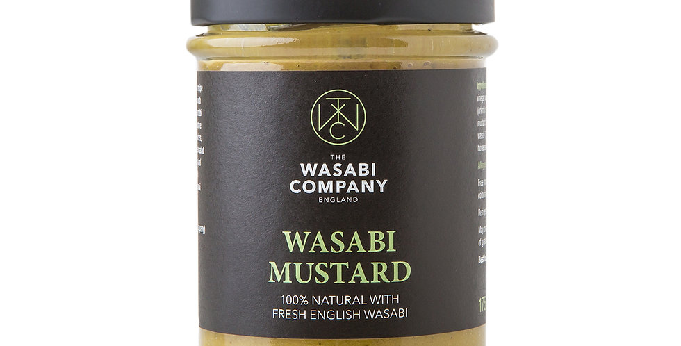 Wasabi Label - Wasabi Mustard - 175g