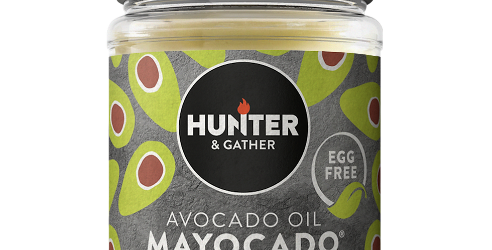 Hunter & Gather - Mayocado Egg Free Avocado Mayonnaise - 175g