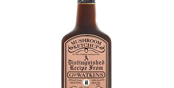 Geo Watkins Mushroom Ketchup