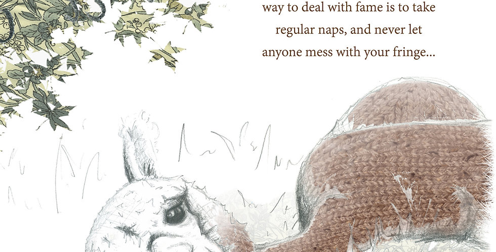 Alpacaly Ever After - Milky Joe Greeting Card