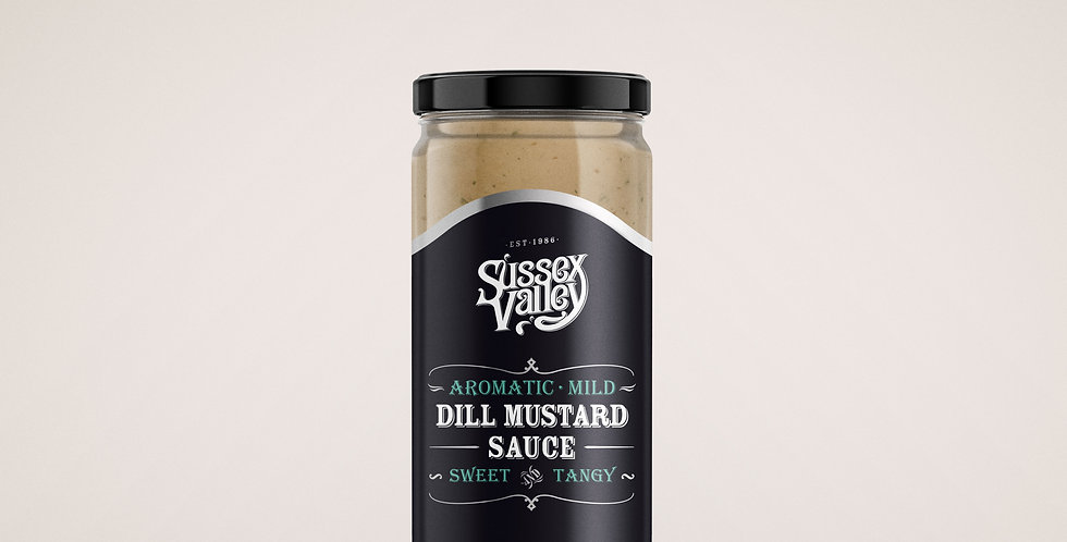 Sussex Valley - Dill Mustard Sauce - 190g