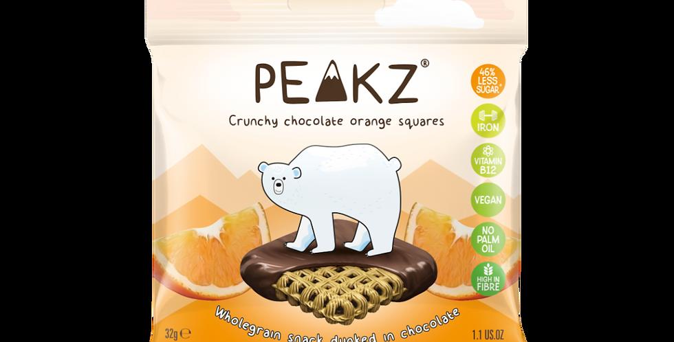 Peakz Chocolate Orange Squares 32g x 6