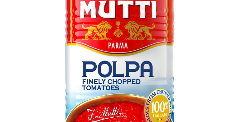 Mutti - Polpa (Finely Chopped Tomato)