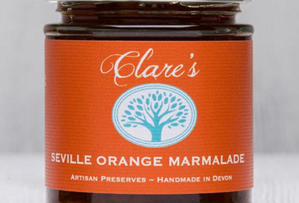 Clare's Preserves - Seville Orange Marmalade - 227g