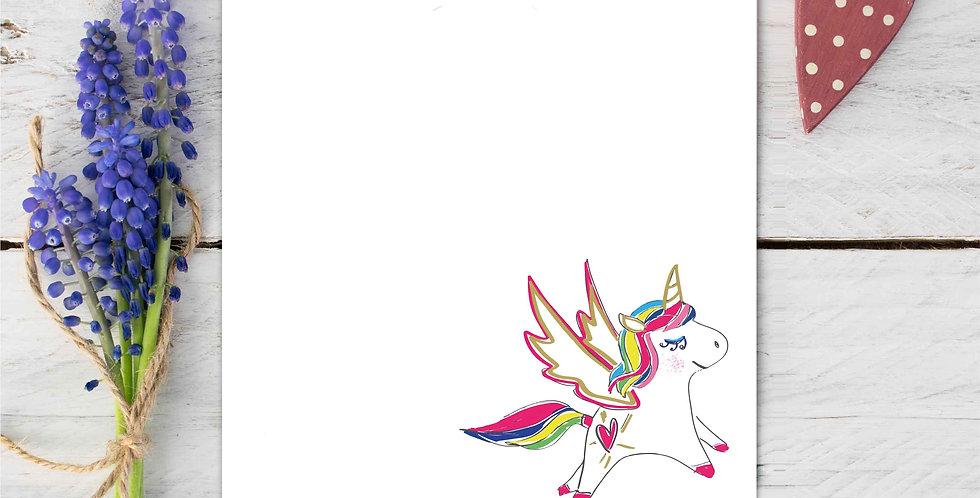 Marina B Designs - Unicorn Notecards