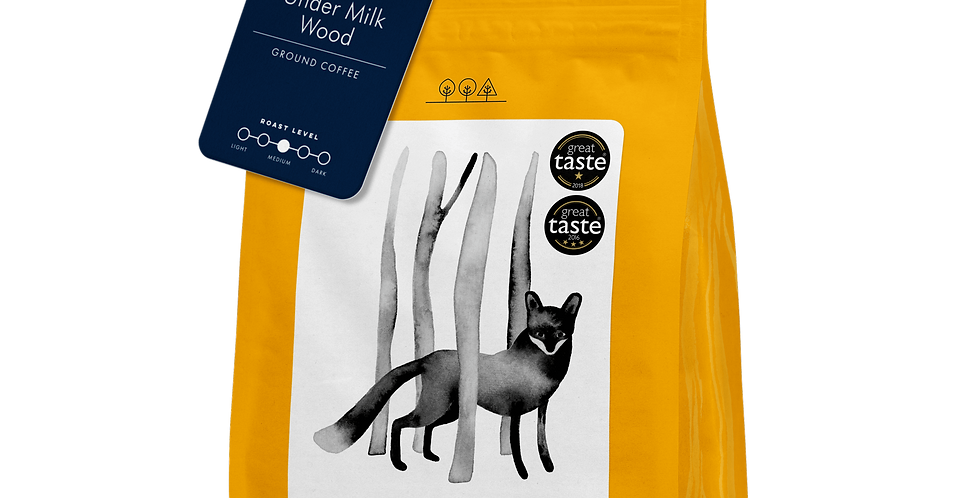 Dark Woods Coffee - Under Milk Woods - 250g (Beans)