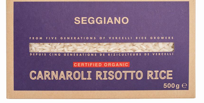Seggiano Organic Carnaroli Risotto Rice - 500g