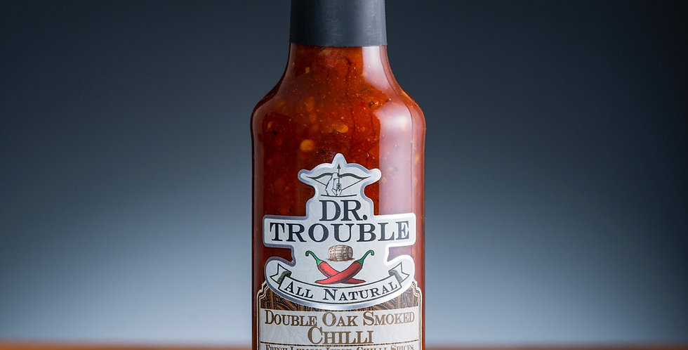 Dr Trouble - Double Oak Smoked Chilli Sauce - 125ml