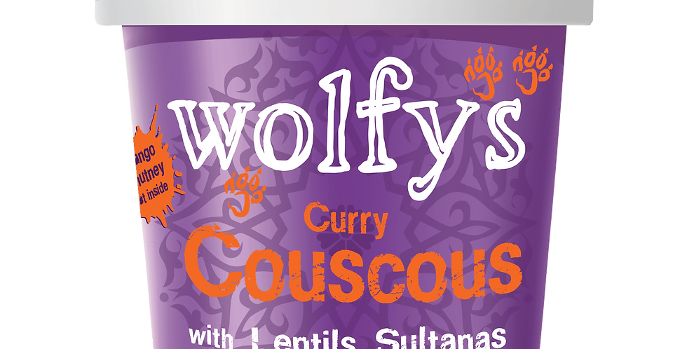 Wolfys - Curry Couscous - 107g