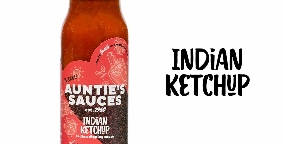 Auntie's Sauces - Indian Ketchup - 250ml