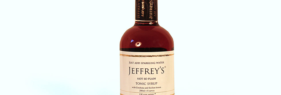 Jeffrey's Tonic - Not So Plain 200ml