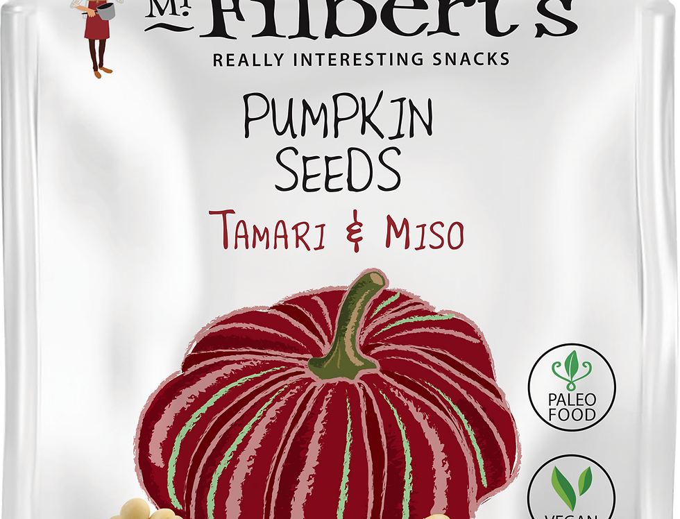 Mr Filbert's - Tamari & Miso Pumpkin Seeds - 25g