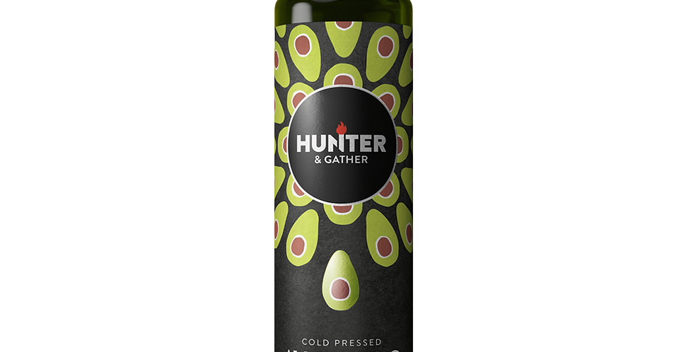 Hunter & Gather - Cold Pressed Extra Virgin Avocado Oil - 250ml