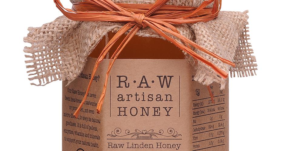 Raw Artisan Honey - Linden - 220g