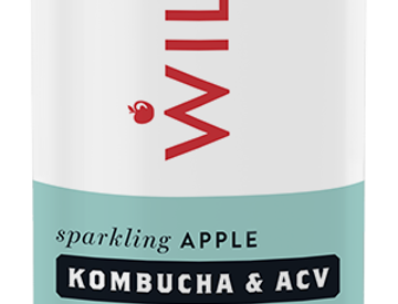 Willy's Sparkling Apple Drink with Kombucha & ACV x 6 (250 ml)