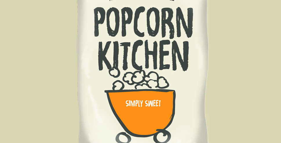 Popcorn Kitchen - Simply Sweet - 30g