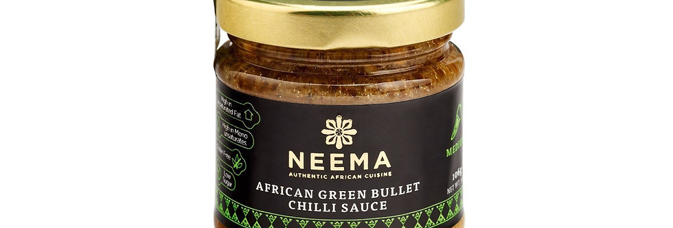 Neema - African Green Bullet Chilli Paste - 106g