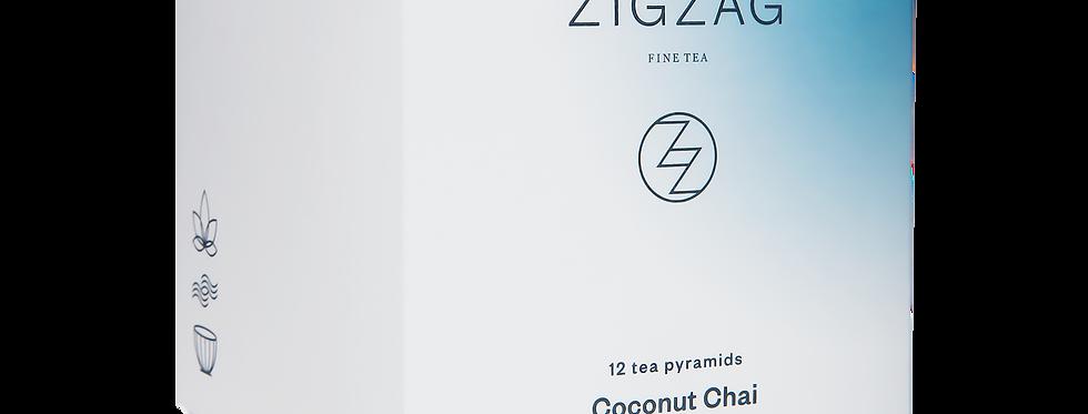 Zig Zag Fine Tea - Coconut Chai - 200 Tea Bags