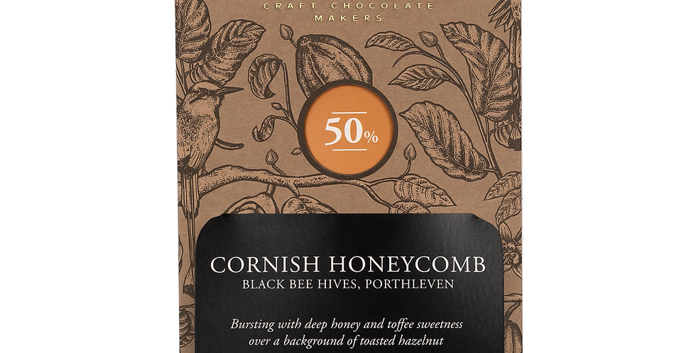 Chocolarder - Cornish Honeycomb 50% Milk Chocolate