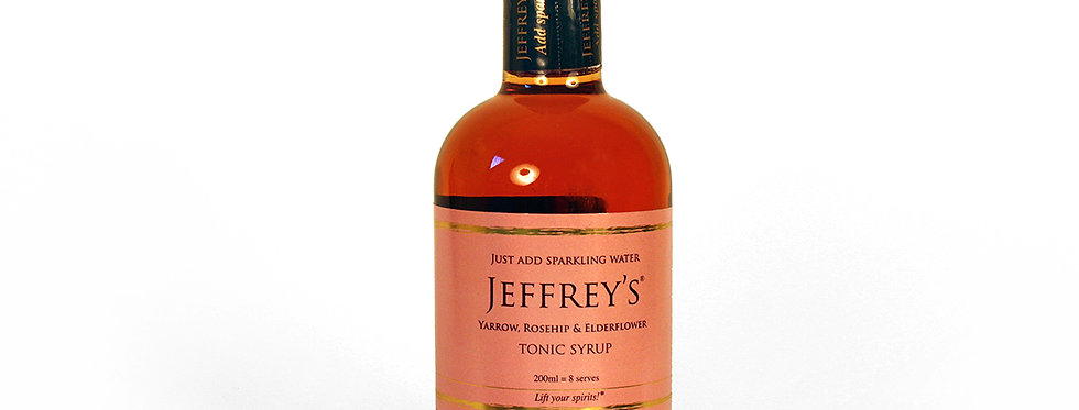 Jeffrey's Tonic - Yarrow, Rosehip & Elderflower 200ml