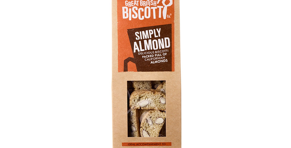Great British Biscotti Company - Simply Almond - 100g