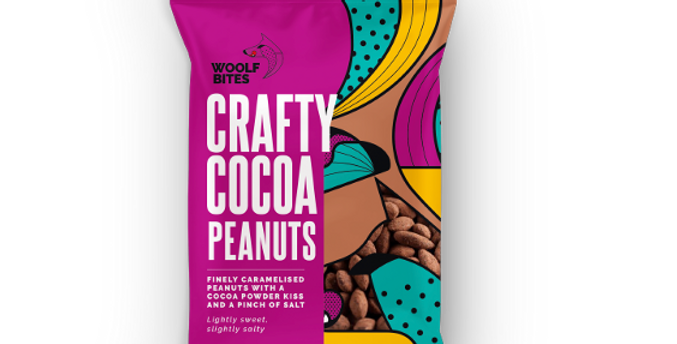 The Woolf's Kitchen - Crafty Cocoa Peanuts (80g)