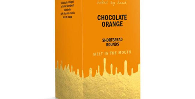 Dean's - Chocolate Orange Shortbread Rounds - 150g