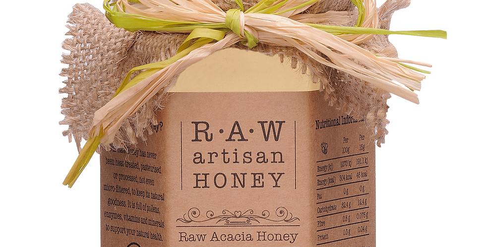 Raw Artisan Honey - Acacia - 220g