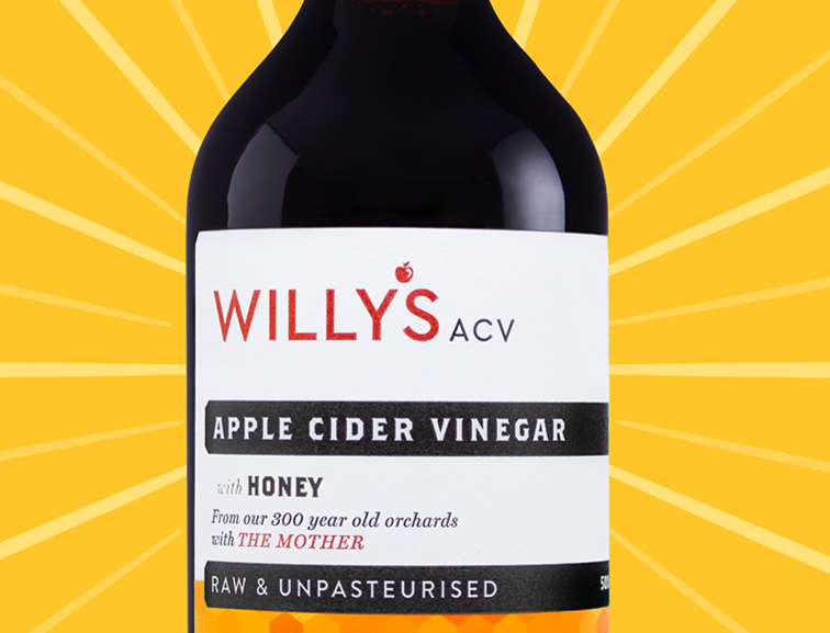 Willy's Honey Apple Cider Vinegar - 500ml