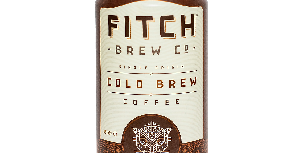 FITCH Cold Brew Coffee - 6 x 330ml