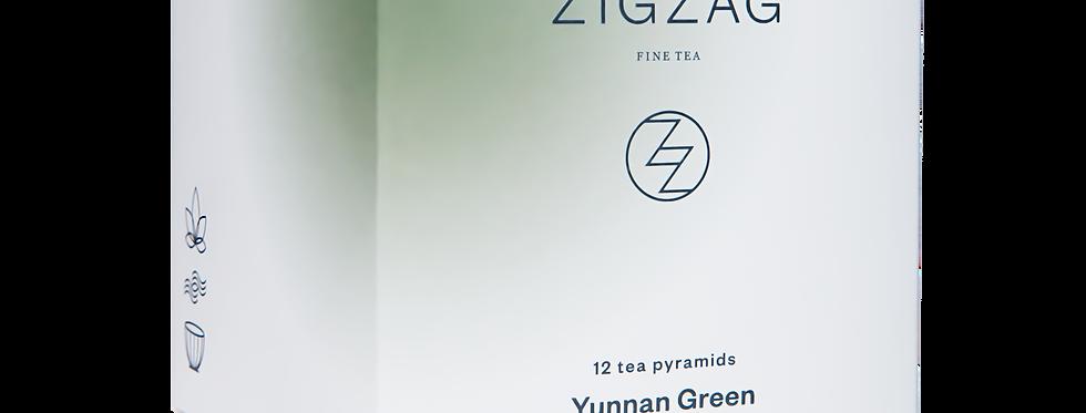 Zig Zag Fine Tea - Yunnan Green - 12 Tea Bags